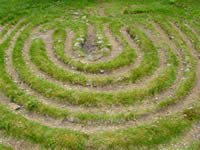 The Lindbacke Labyrinth has stood here for over a thousand years.